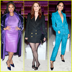 Jennifer Hudson Steps Out For Tom Ford Fashion Show With Julianne Moore Ahead Of Her Birthday