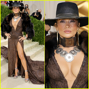 Jennifer Lopez Goes for a Western Theme with Her Met Gala 2021 Look!