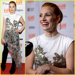 Jessica Chastain Begins Her Awards Campaign at 'The Eyes of Tammy Faye' TIFF Premiere!