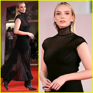 Jodie Comer Slays the Red Carpet in Alaia at 'The Last Duel' Venice Premiere!