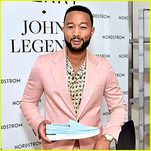 John Legend Launches His New Shoe Collection With Sperry in LA