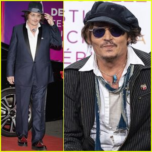 Johnny Depp Screens His Movie 'City of Lies' at Deauville Film Festival 2021