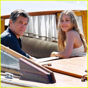 Josh Brolin & Wife Kathryn Arrive in Venice Ahead of 'Dune' Premiere