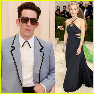 Josh O'Connor & 'The Crown' Co-Star Gillian Anderson Hit the Red Carpet at Met Gala 2021