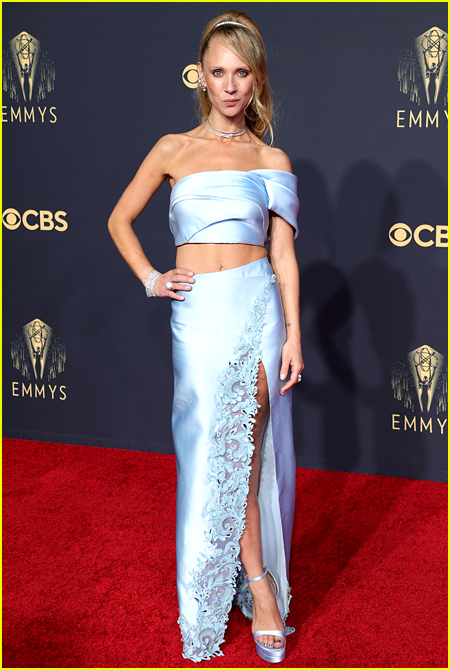 Juno Temple photo at Emmy Awards 2021