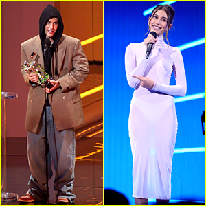 Justin & Hailey Bieber Dressed Very Differently at the VMAs 2021 - See Photos!