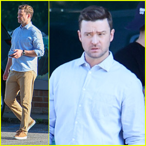 Justin Timberlake Shoots New Movie 'Reptile' At Sunset in Atlanta
