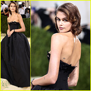 Kaia Gerber Oozes Classic Hollywood Style For Met Gala 2021