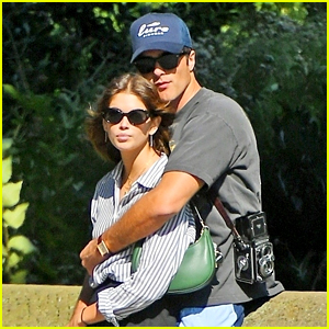 Kaia Gerber Packs on PDA with Jacob Elordi in New York City