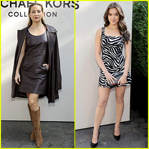 Kate Hudson Joins Lots of Young Hollywood Stars at Michael Kors NYFW Show