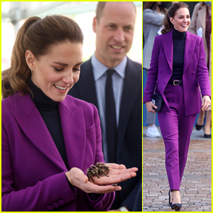 Duchess Kate Middleton Handles a Tarantula & Doesn't Seem Phased At All!