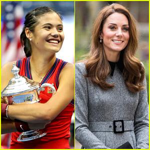Kate Middleton Sends Congratulatory Note To US Open Winner Emma Raducanu