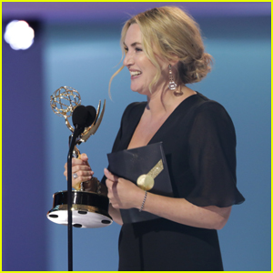 Kate Winslet Wins Outstanding Lead Actress for 'Mare of Easttown' at the Emmy Awards 2021!