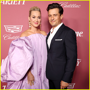Honoree Katy Perry Gets Orlando Bloom's Support at Power of Women Event