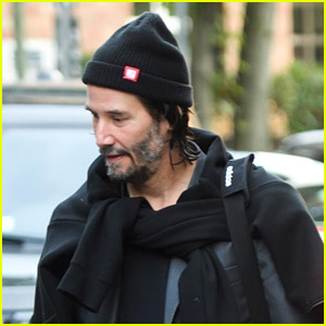 Keanu Reeves Spotted Out in Berlin After 'Matrix' Trailer Announcement