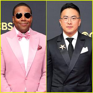 SNL's Kenan Thompson & Bowen Yang Suit Up Sharp For Emmy Awards 2021
