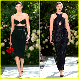 Kendall Jenner & Gigi Hadid Rule the Runway During Michael Kors' NYFW Show