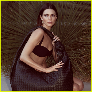Kendall Jenner Poses for Photo Shoot to Celebrate Her New Job!