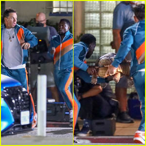Kevin Hart & Mark Wahlberg Rush a Tortoise to the Hospital While Filming for Their New Movie 'Me Time'