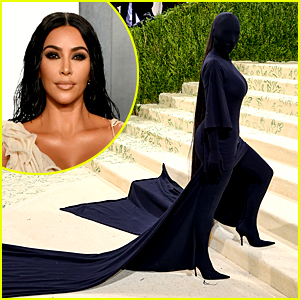 Kim Kardashian Is Showing No Skin Whatsoever at Met Gala 2021 - See Her Fully Masked Outfit