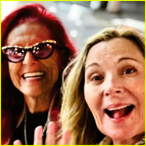 Kim Cattrall Has a 'Sex & The City' Reunion With Patricia Field!