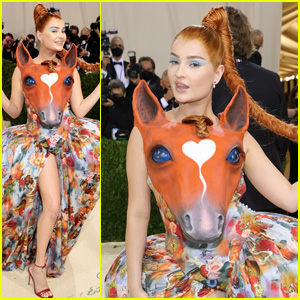 Kim Petras Embraces Her Inner 'Horse Girl' for the 2021 Met Gala