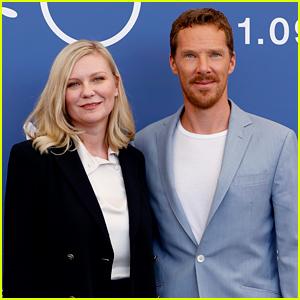 Kirsten Dunst & Benedict Cumberbatch Promote 'Power of the Dog' in Venice