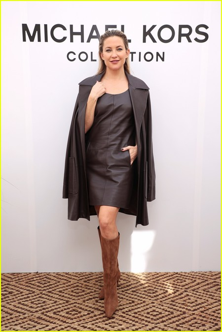 Kate Hudson at the Michael Kors fashion show during NYFW 2021