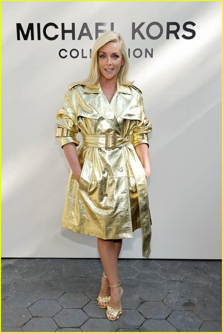 Jane Krakowski at the Michael Kors fashion show during NYFW 2021