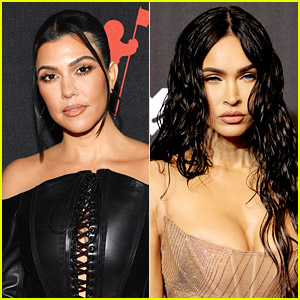 Kourtney Kardashian & Megan Fox Seemingly Accused Of Copying Their Steamy SKIMMS Campaign Shoot