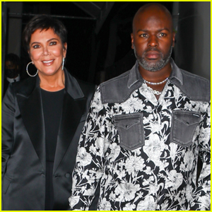 Kris Jenner & Corey Gamble Coordinate Outfits for Date Night!