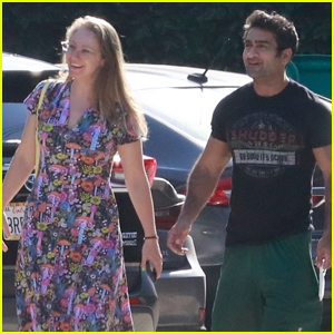 Kumail Nanjiani Shows Off His Muscles During a Spa Day with His Wife Emily V. Gordon
