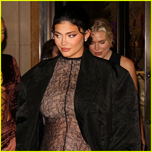 Kylie Jenner Wears Completely Sheer Outfit, Two Days After Her Pregnancy Reveal!