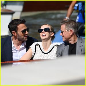 Ben Affleck Joins BFF Matt Damon & Co-Star Jodie Comer at Venice Film Festival 2021