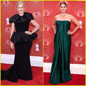 Nominee Laura Linney & Debra Messing Look Stunning on the Tony Awards 2020 Red Carpet!
