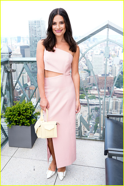 Lea Michele at Cinq a Sept