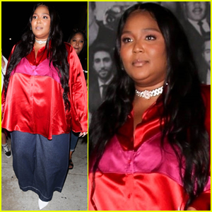 Lizzo Grabs Late-Night Dinner with Friends in West Hollywood