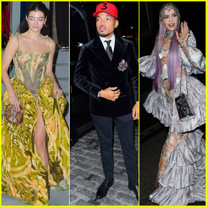 Lorde, Grimes, Chance the Rapper & More Attend Rihanna's Met Gala 2021 After Party!