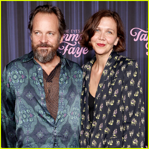Maggie Gyllenhaal & Peter Sarsgaard Couple Up for 'The Eyes of Tammy Faye' Premiere