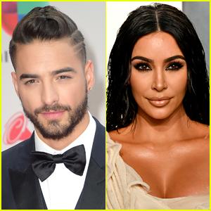 Maluma Speaks to Rumors That He's Dating Kim Kardashian