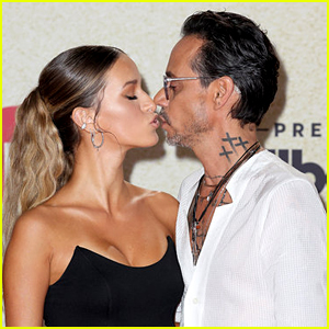 Marc Anthony Makes Surprise Red Carpet Debut with New Girlfriend at Billboard Latin Music Awards 2021!