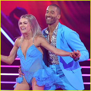 Matt James Performs on 'DWTS' Premiere with Girlfriend Rachael Kirkconnell in the Audience (Video)