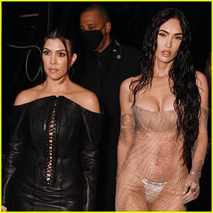 You Need to See What Megan Fox & Kourtney Kardashian Said About Their Boyfriends at VMAs 2021!