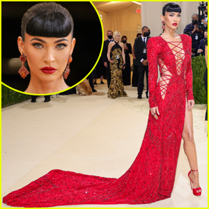 Megan Fox Makes Met Gala Debut, Kills the Red Carpet in Red Hot Look!