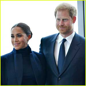 Meghan Markle & Prince Harry Make First Official Visit Together in Months - See Photos!