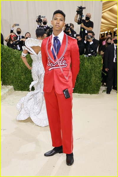 Tyler Mitchell on the Met Gala 2021 Red Carpet