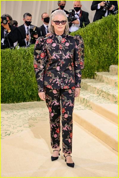 Lisa Love on the Met Gala 2021 Red Carpet