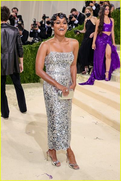 Ariana DeBose on the Met Gala 2021 Red Carpet