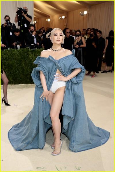 CL on the Met Gala 2021 Red Carpet