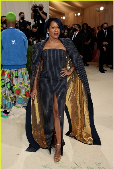 Regina King on the Met Gala 2021 Red Carpet